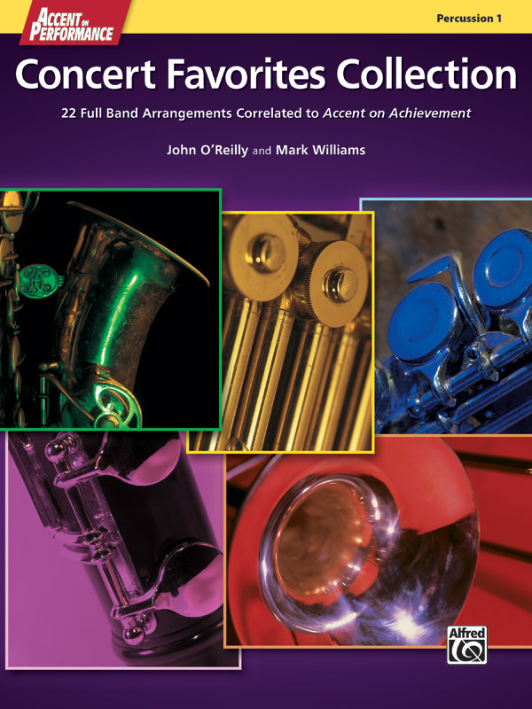 ACCENT ON PERFORMANCE CONCERT FAVORITES COLLECTION PERCUSSIO
