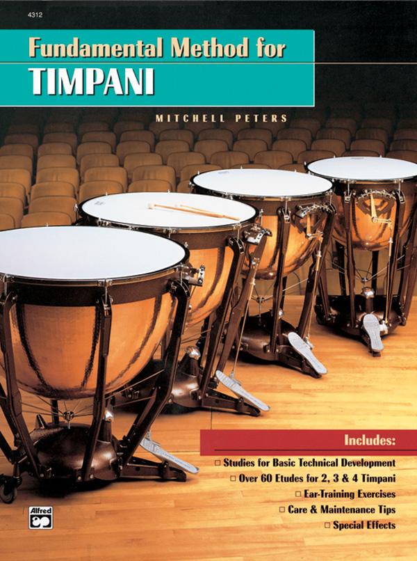 FUNDAMENTAL METHOD FOR TIMPANI PETERS (4312 ) (Timpani Methods )