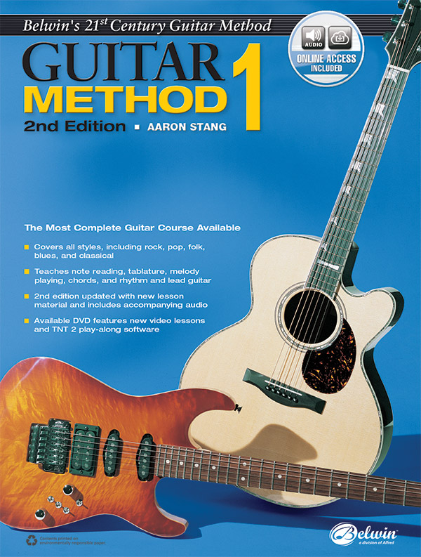 Belwin's 21st Century Guitar Method, Book 1 (2nd Edition, With Online Access)