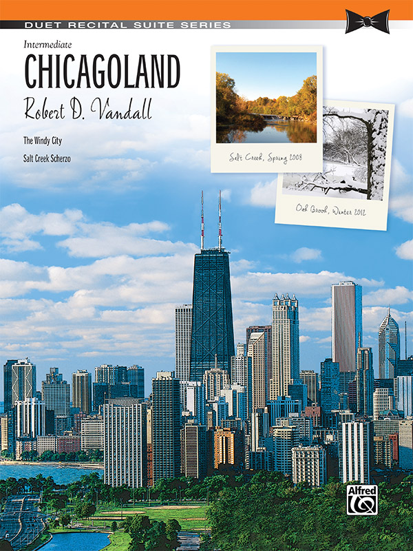 CHICAGOLAND VANDALL FED20 (44662 ) (Piano Duet Books )