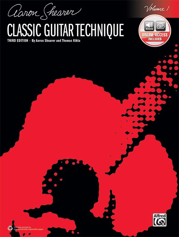 Aaron Shearer Classic Guitar Technique Volume 1 w/Online Access