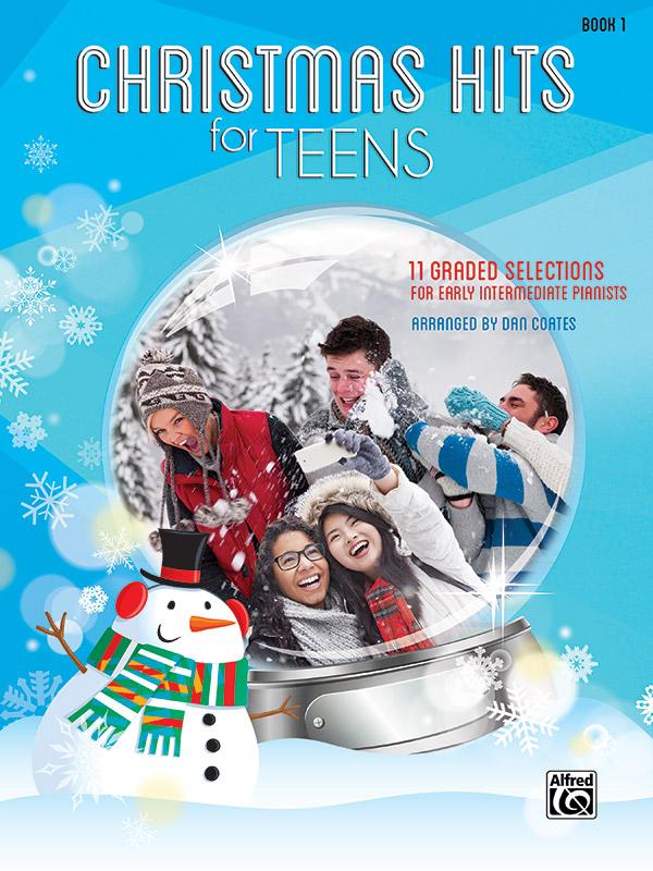 CHRISTMAS HITS FOR TEENS 1 COATES (46122 ) (Christmas Piano Book )