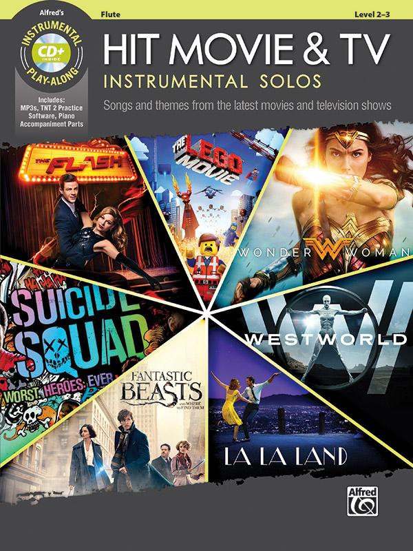 Hit Movie & TV Instrumental Solos - Flute