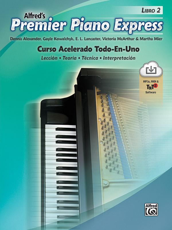 Premier Piano Express: Spanish Edition, Libro 2