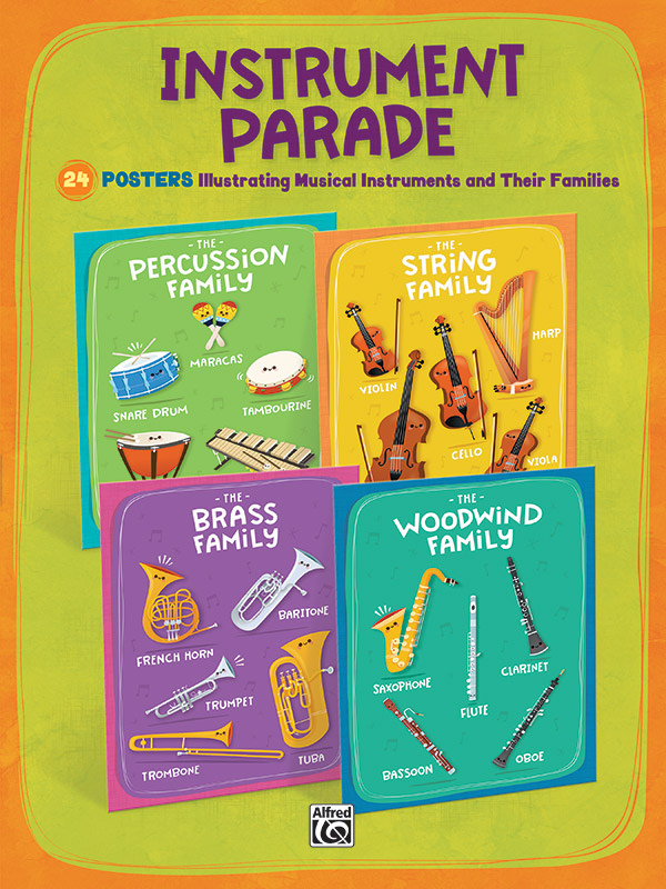 Instrument Parade Posters