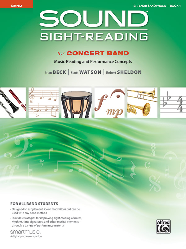 SOUND SIGHT READING FOR CONCERT BAND 1 SAXOPHONE TENOR BECK