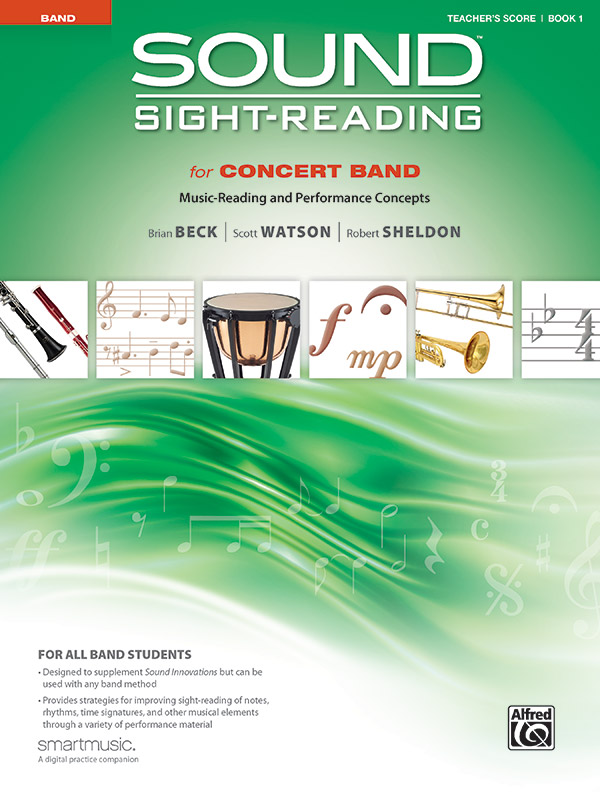 SOUND SIGHT READING FOR CONCERT BAND 1 TEACHERS SCORE BECK W