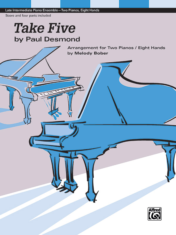 TAKE FIVE DESMOND BOBER (48593 ) (Two Pianos Eight Hands )