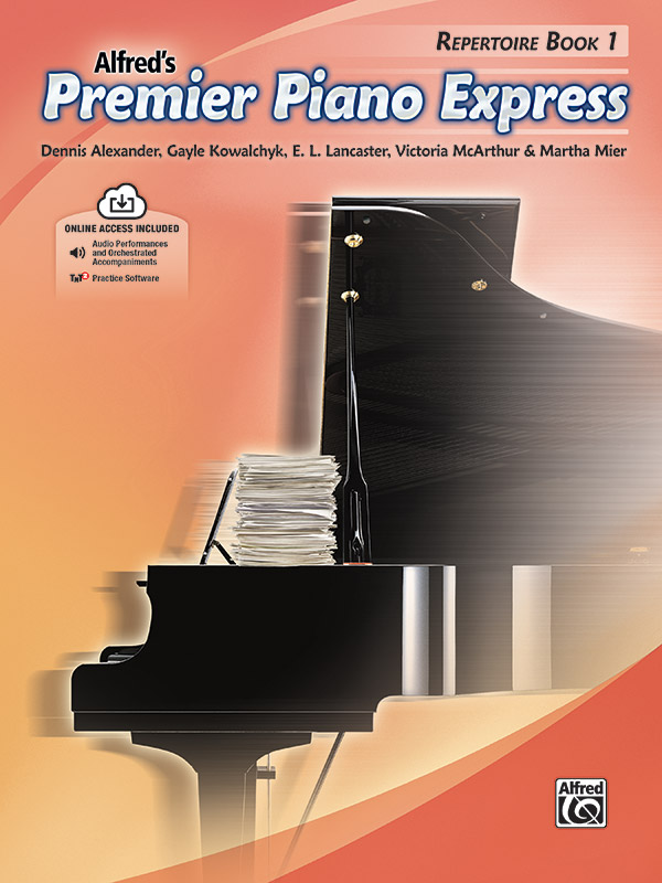Alfred's Premier Piano Express, Repertoire Book 1