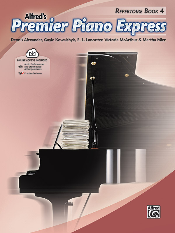 Alfred's Premier Piano Express, Repertoire Book 4