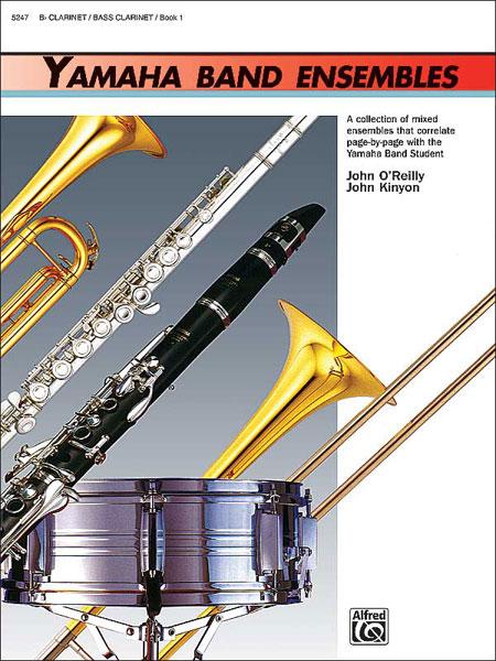 Yamaha Band Ensembles Clarinet/Bass Clarinet  Book 1