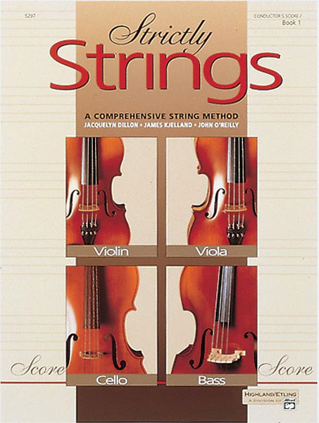 STRICTLY STRINGS 1 CONDUCTORS SCORE DILLON KJELLAND OREILLY