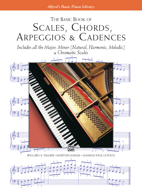 The Basic Book of Scales Chords Arpeggios & Cadences