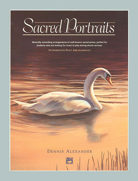 SACRED PORTRAITS ALEXANDER (6003 ) (Sacred Piano Duet Folios )