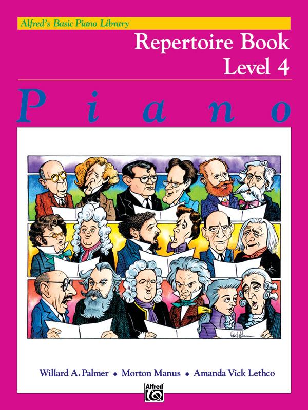 Alfred's Basic Piano Course Repertoire Book 4