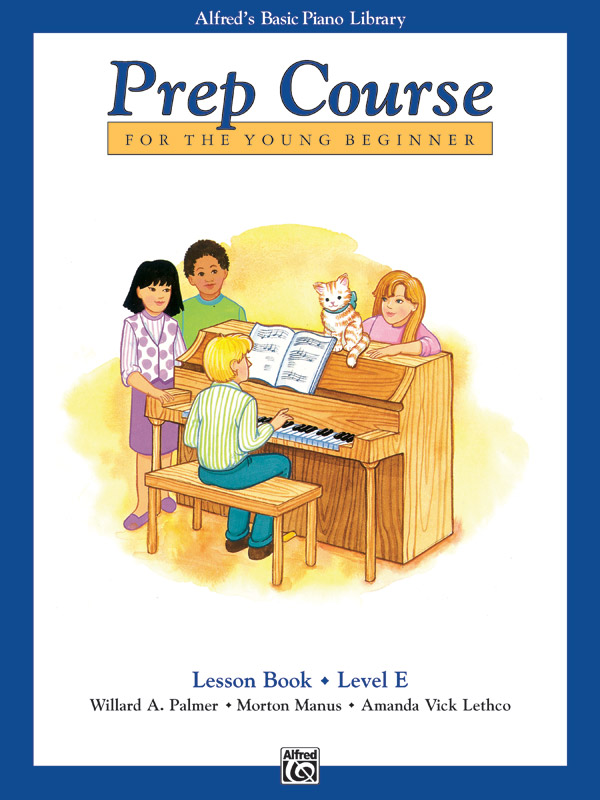 Alfred's Basic Piano Library Prep Course For Young Beginners Lesson E
