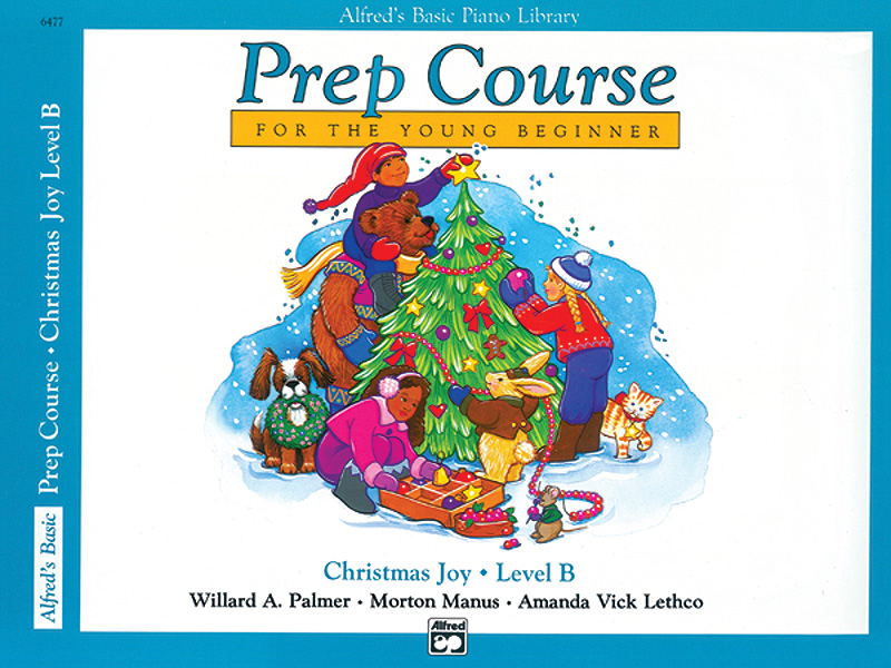 ALFREDS BASIC PIANO LIBRARY PREP COURSE CHRISTMAS JOY B PALM (6477 ) (Christmas Piano Book )