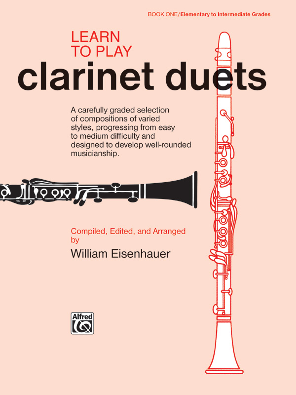 LEARN TO PLAY CLARINET DUETS 1 EISENHAUER