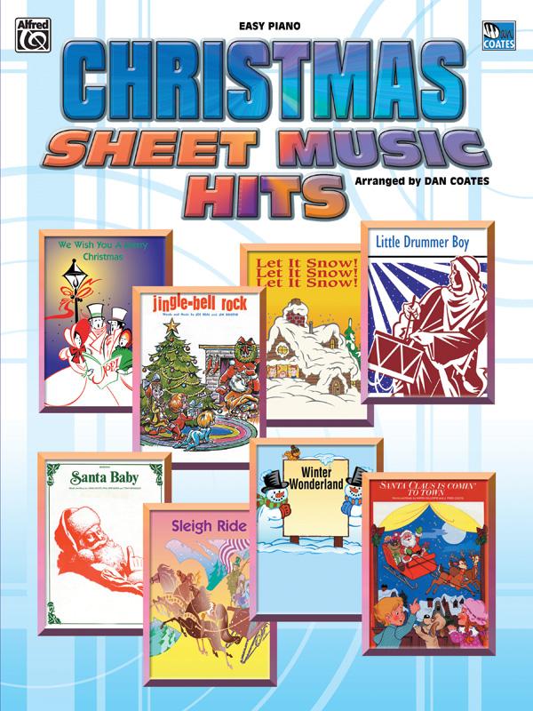 Christmas Sheet Music Hits; Easy Piano
