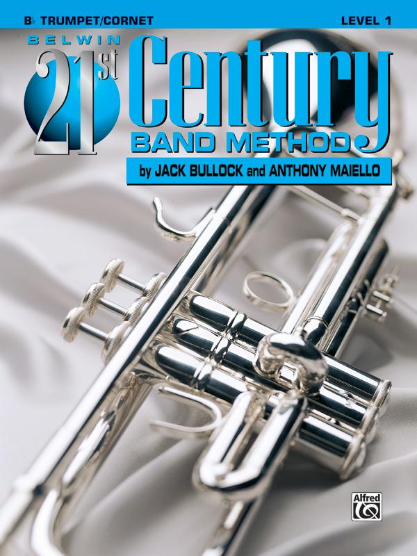 BELWIN 21ST CENTURY BAND METHOD 1 TRUMPET/CORNET Bb BULLOCK