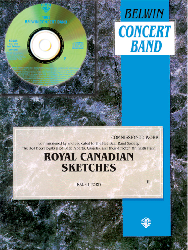 ROYAL CANADIAN SKETCHES CONCERT BAND FORD