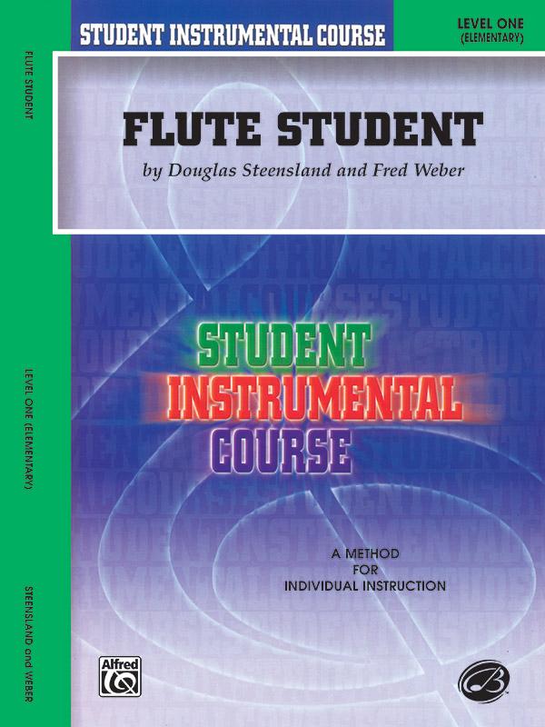 FLUTE STUDENT 1 STEENSLAND WEBER SIC (BIC00101A ) (Flute Methods )