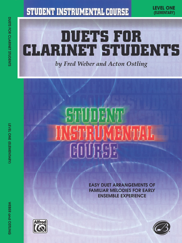 DUETS FOR CLARINET STUDENTS 1 WEBER OSTLING SIC