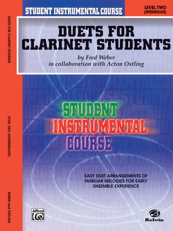DUETS FOR CLARINET STUDENTS 2 WEBER OSTLING SIC