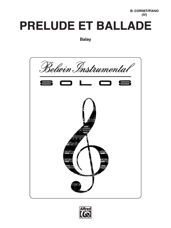 PRELUDE ET BALLADE BALAY STATE ST00 (BWI00069 ) (Trumpet Solos )