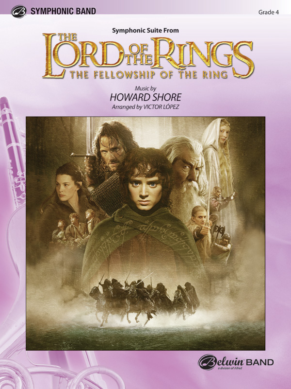 LORD OF THE RINGS FELLOWSHIP OF THE RING SYMPHONIC SUITE FRO