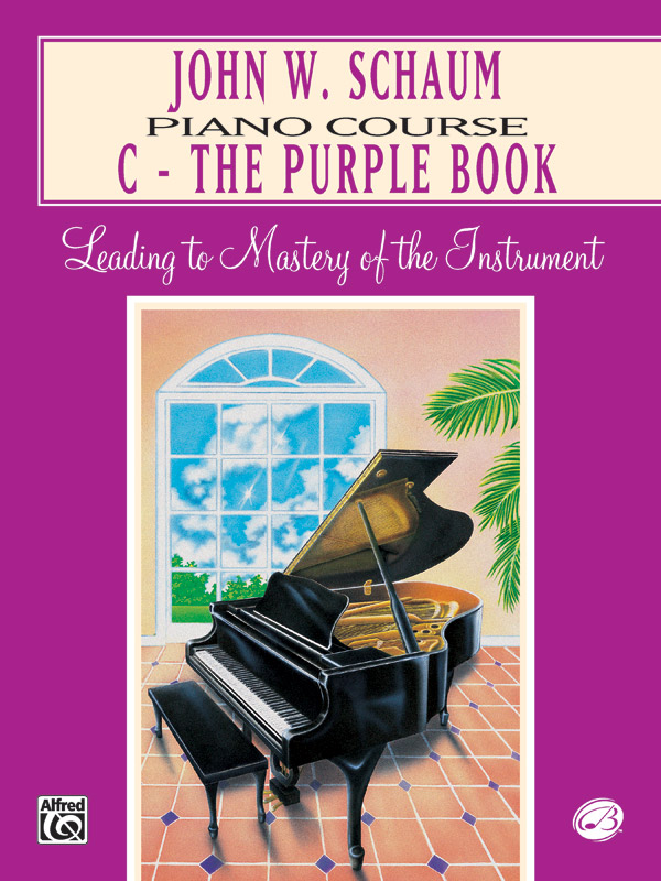 John W. Schaum Piano Course C - The Purple Book