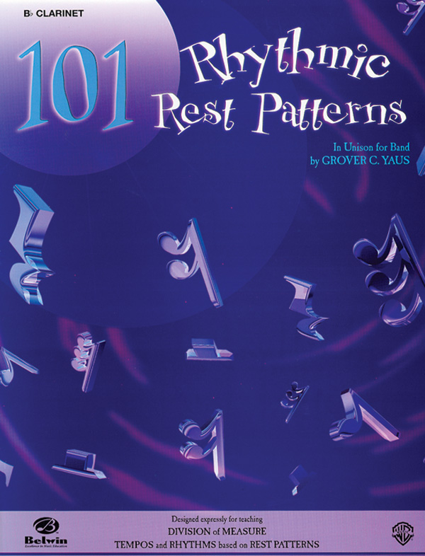 101 RHYTHMIC REST PATTERNS FLUTE C PICCOLO YAUS