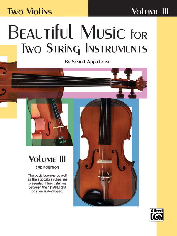 Beautiful Music for Two String Instruments Violin, Book III