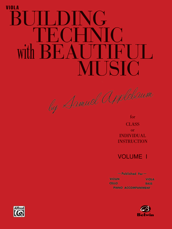 BUILDING TECHNIC WITH BEAUTIFUL MUSIC 1 VIOLA APPLEBAUM