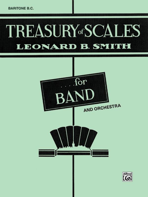 TREASURY OF SCALES BARITONE BC SMITH