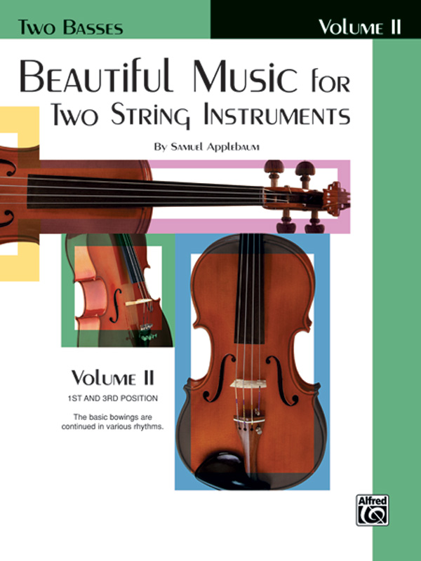 BEAUTIFUL MUSIC FOR 2 STRING INSTRUMENTS 2 TWO BASSES APPLEB