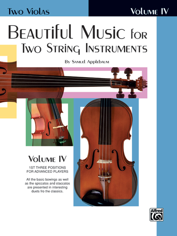 Beautiful Music for Two String Instruments Viola, Book IV