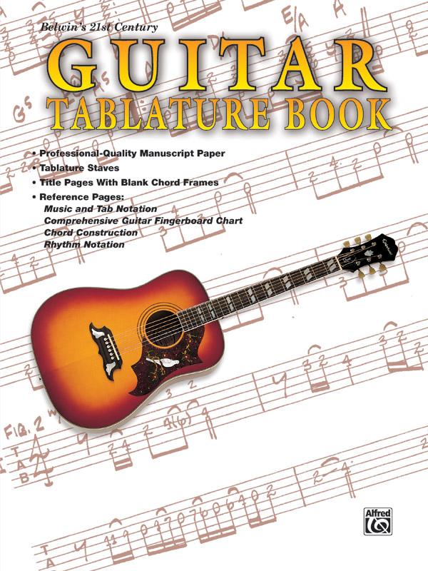 BELWINS 21ST CENTURY GUITAR LIBRARY GUITAR TABLATURE BOOK PE