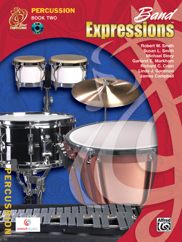 Band Expressions� Percussion, Book Two: Student Edition
