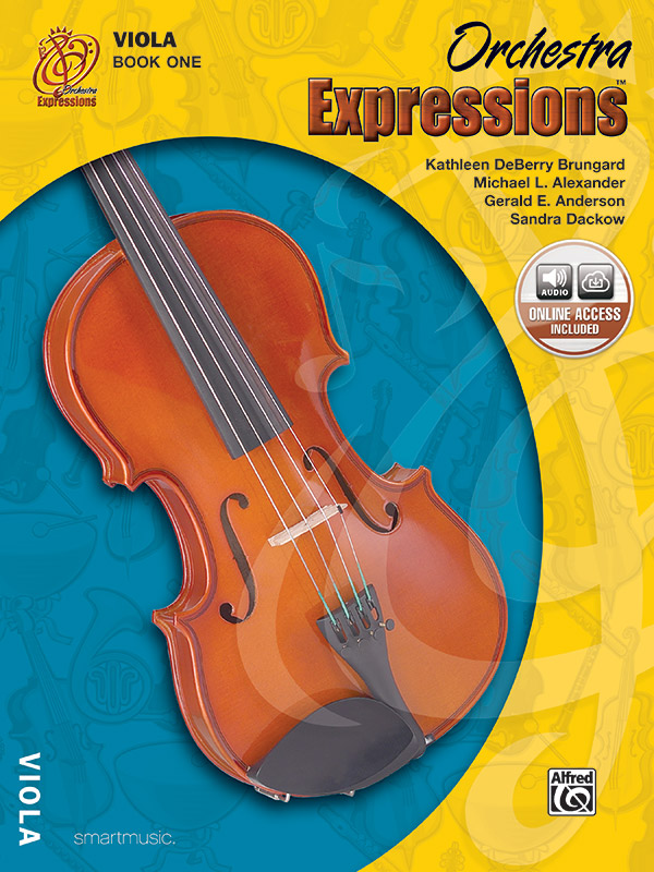 Orchestra Expressions, Viola Bk 1: Student Edition