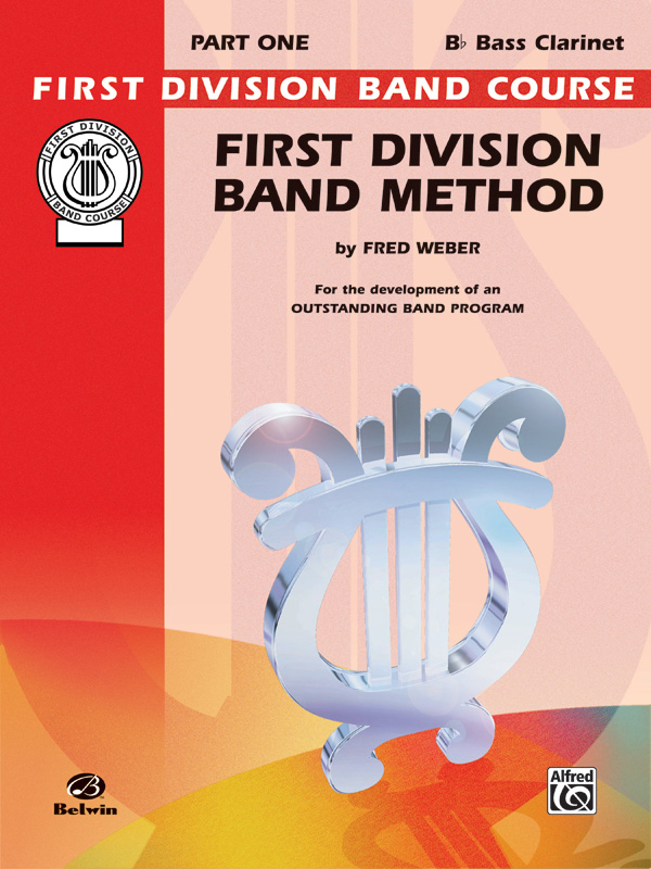 1ST DIVISION BAND METHOD 1 CLARINET BASS Bb WEBER