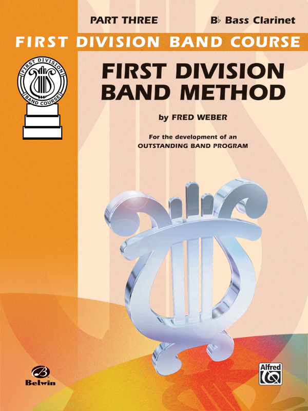 1ST DIVISION BAND METHOD 3 CLARINET BASS Bb WEBER