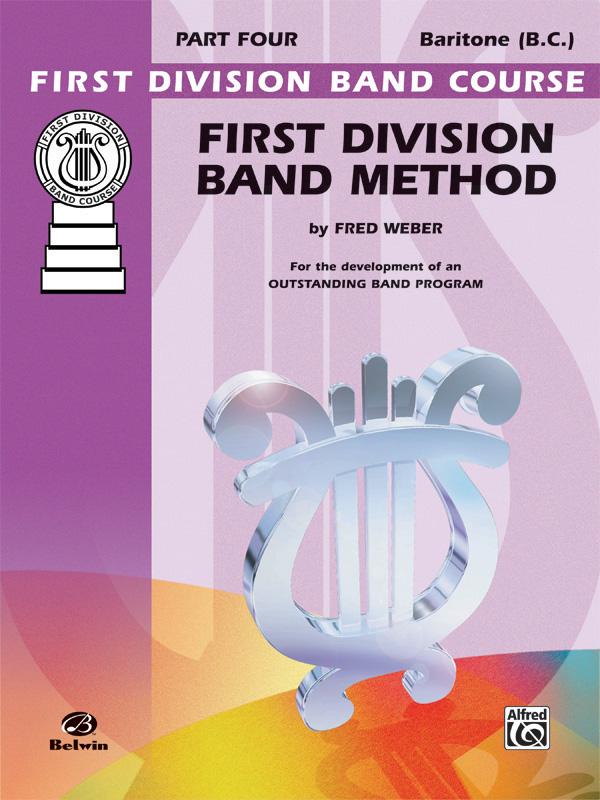 1ST DIVISION BAND METHOD 4 BARITONE BC WEBER