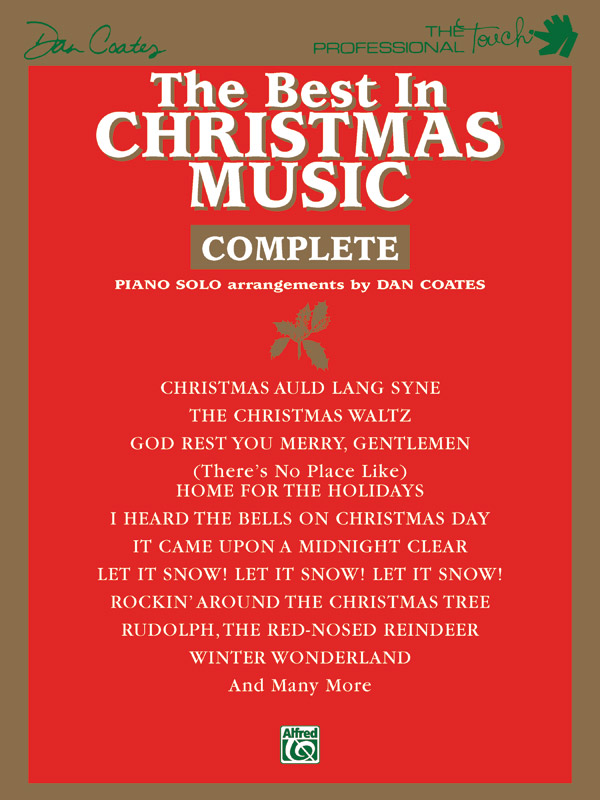 BEST IN CHRISTMAS COMPLETE COATES PRO (PF0735A ) (Christmas Piano Book )