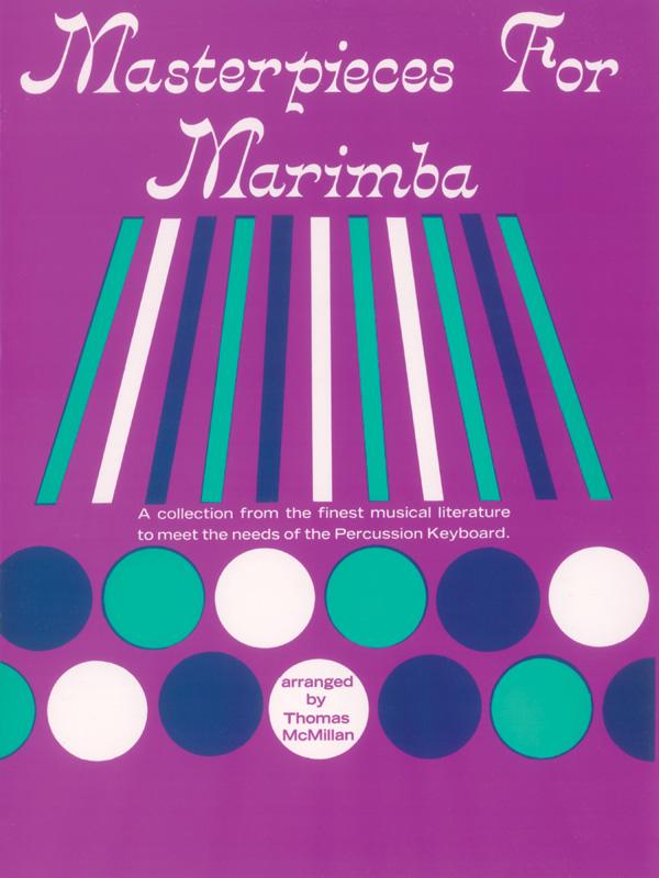 MASTERPIECES FOR MARIMBA MCMILLAN (PROBK01202 ) (Marimba )