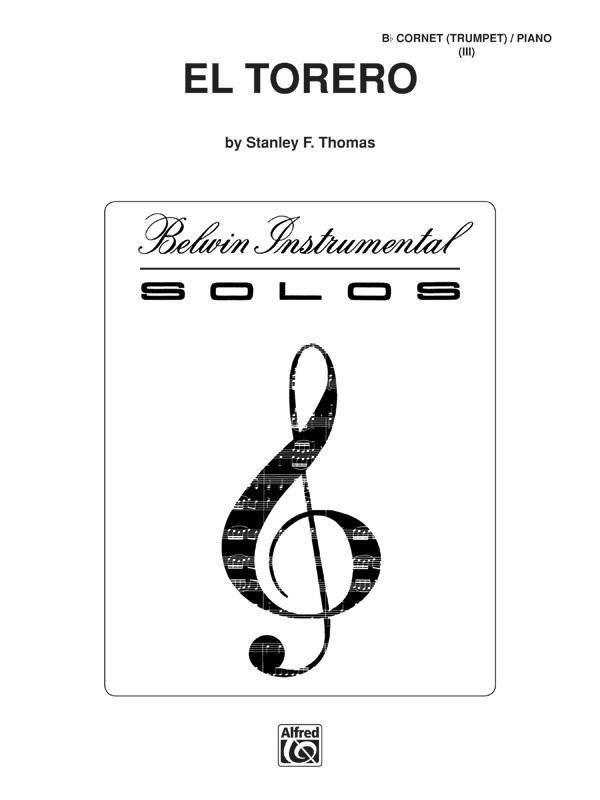 EL TORERO THOMAS (SCHWI09522 ) (Trumpet Solos )