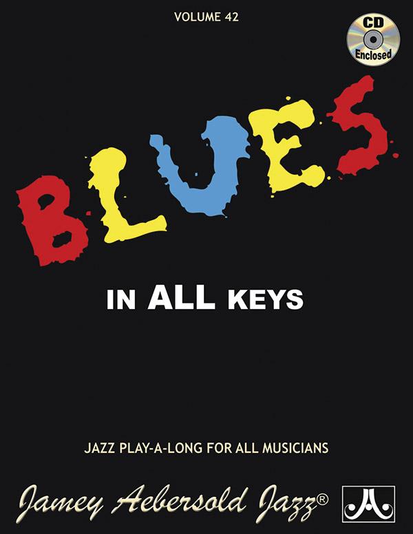 AEBERSOLD JAMEY 42 BLUES IN ALL KEYS BKCD