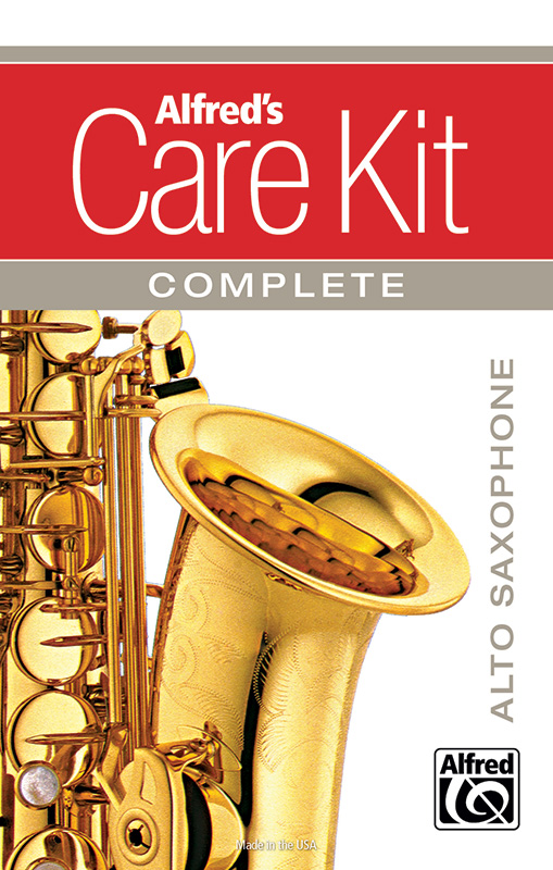 Alfred's Alto Sax Care Kit Complete