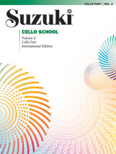 Suzuki Cello School Vol 2 with CD (Revised)