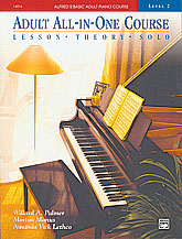 Alfred's Adult All In One Piano Book 2